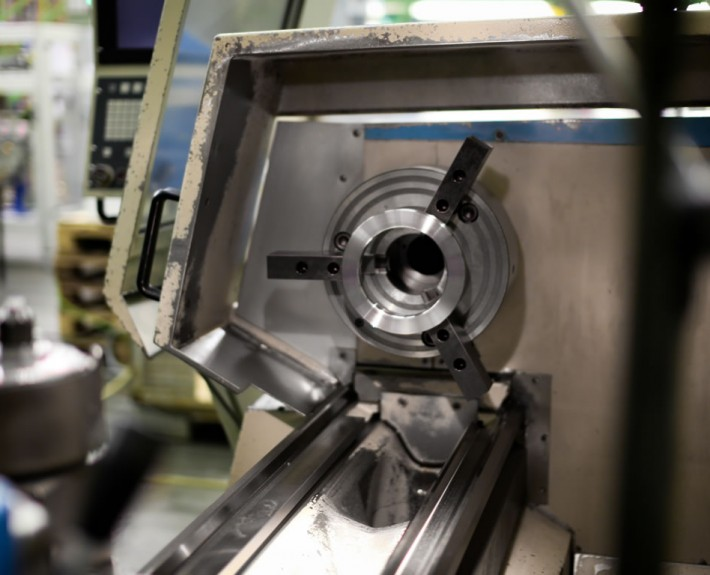 Drehmaschine Boehringer DUS Detailansicht